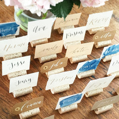 Glitter Wedding Place Card Holder