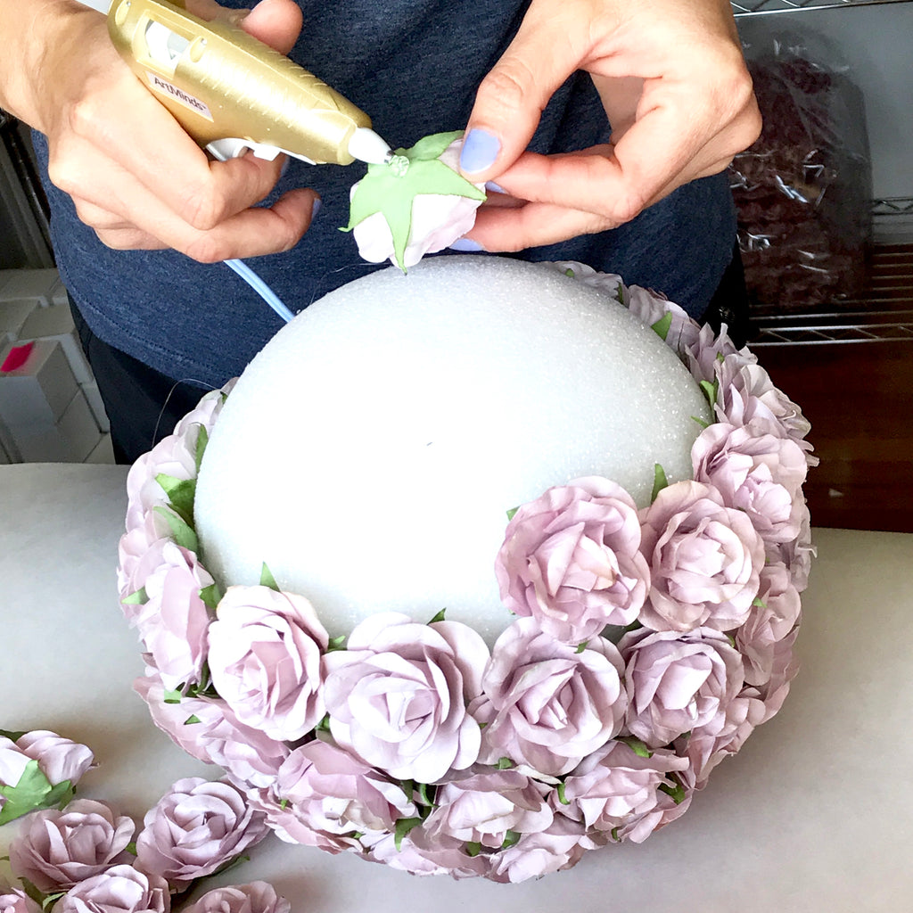 Making Your Own Wedding Flowers: SAVE 30% Make Your Own Dusty Mauve Wedding Flower Ball