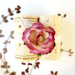 Plum Place Card Holder