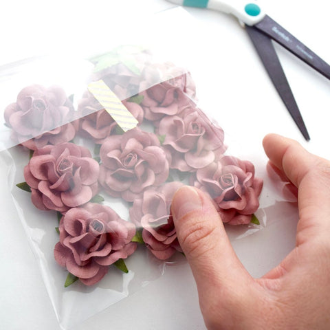 A Dozen Paper Roses | Thoughtful Gift for Friend