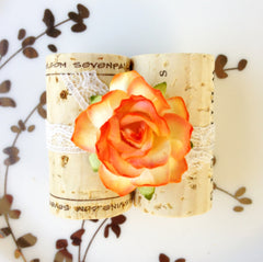 Tangerine Place Card Holder
