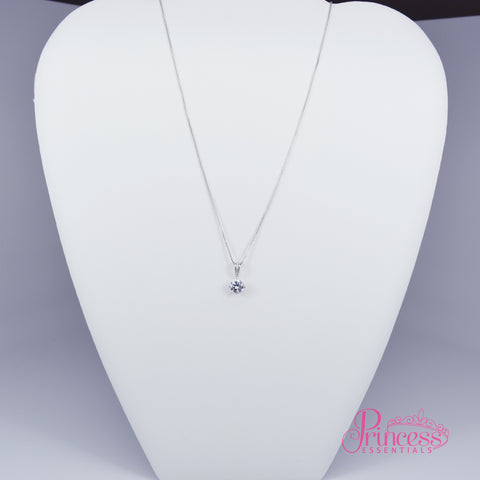 Waterdrop Solitaire Necklace
