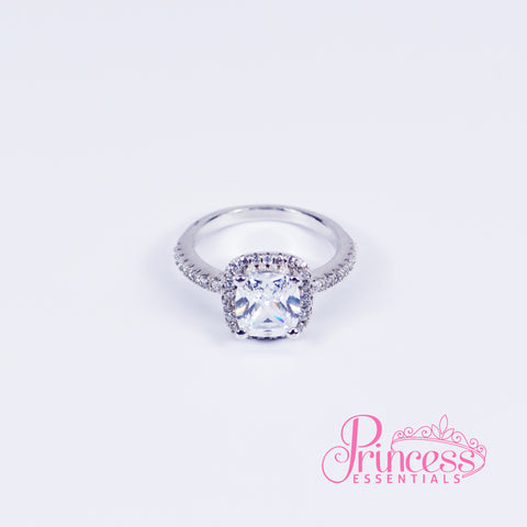 Cushion Cut Princess Ring