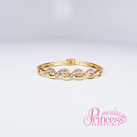 Golden Wave Bracelet