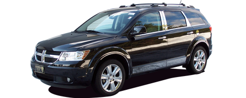 Dodge Journey Large on Volvo S40 Bumper Cover