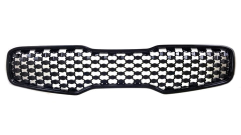 Gloss Black ABS Grille Overlays 1Pc Fits Kia Sportage 2017-2019 ABS6418BLK