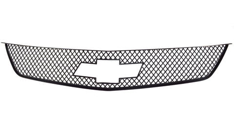 Auto Trim fits Chevrolet Impala 2014-2020 1 piece Gloss Black ABS Plastic Grille Overlays Mesh Design ABS6460BLK