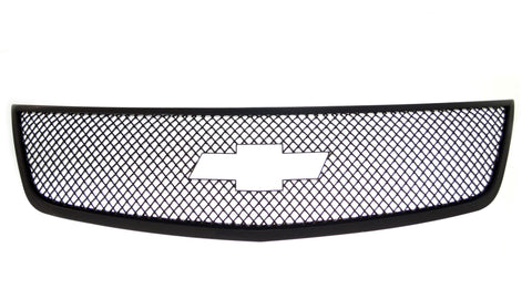 Auto Trim fits Chevrolet Traverse 2013-2017 1 piece Gloss Black ABS Plastic Grille Overlays Mesh Design ABS6463BLK