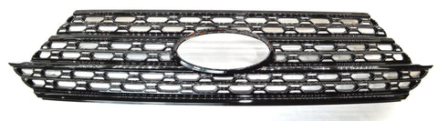 Auto Trim fits Ford Explorer 2020-2021 1 piece Gloss Black ABS Plastic Grille Overlays Does not fit with front camera ABS6505BLK