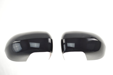 Auto Trim fits Jeep Compass 2011-2017 2 piece Gloss Black ABS Plastic Mirror Covers Full Cover MC6160BLK