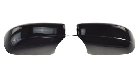 Auto Trim fits Chrysler 200 2011-2014, Chrysler 300 2011-2020, Dodge Charger 2011-2020 2 piece Gloss Black ABS Plastic Mirror Covers Full Cover MC6165BLK
