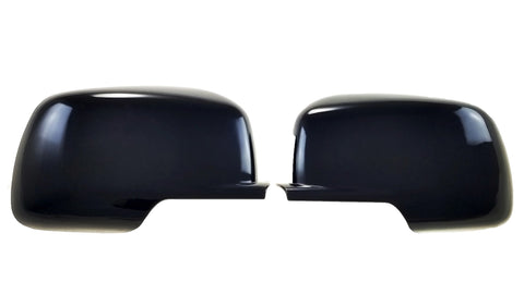 Auto Trim fits Dodge Journey 2009-2020 2 piece Gloss Black ABS Plastic Mirror Covers Top Half MC6219BLK