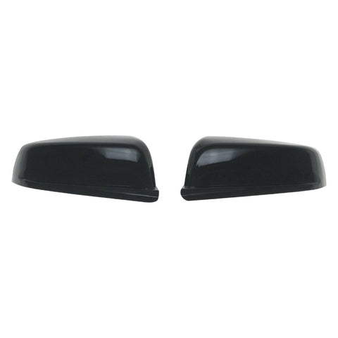 Auto Trim fits Chevrolet Malibu 2013-2015 2 piece Gloss Black ABS Plastic Mirror Covers Top Half MC6231BLK