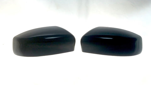 Auto Trim fits Nissan Maxima 2016-2020, Nissan Sentra 2016-2019 2 piece Gloss Black ABS Plastic Mirror Covers Top Half MC6232BLK