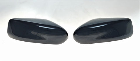 Auto Trim fits Nissan Altima 2013-2018 2 piece Gloss Black ABS Plastic Mirror Covers Top Half, Does not include signal cutout MC6257BLK