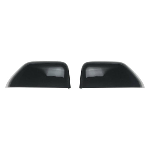 Auto Trim fits Ford F-250 & F-350 Super Duty 2017-2020 2 piece Gloss Black ABS Plastic Mirror Covers Top Half MC6262BLK