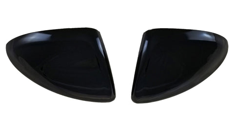 Auto Trim fits Chevrolet Cruze 2016-2019 4 piece Gloss Black ABS Plastic Mirror Covers with or without turn signal cutout MC6273BLK