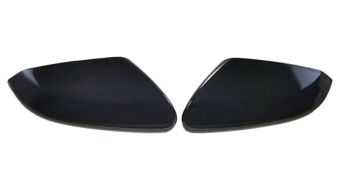Auto Trim fits Honda Civic 2016-2020 2 piece Gloss Black ABS Plastic Mirror Covers Top Half MC6281BLK