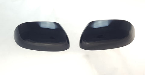 Auto Trim fits Kia Soul 2014-2019 2 piece Gloss Black ABS Plastic Mirror Covers Top Half MC6283BLK