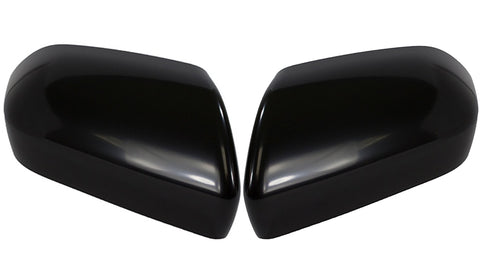 Auto Trim fits Kia Soul 2020-2021 2 piece Gloss Black ABS Plastic Mirror Covers Does not include turn signal cutout MC6310BLK
