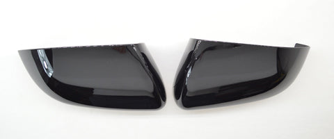 Auto Trim fits Ford Explorer 2020-2021 2 piece Gloss Black ABS Plastic Mirror Covers Top Half, Does not include signal cutout MC6313BLK
