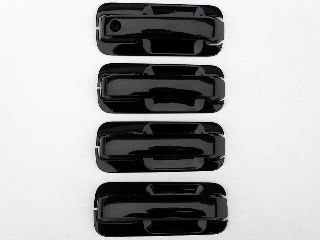 QAA fits 2015-2020 Chevrolet Colorado DH55151 8 Piece Chrome Plated ABS Plastic Door Handle Cover Kit 2015-2020 GMC Canyon