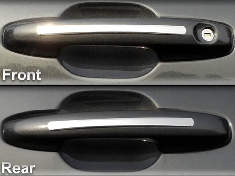 QAA fits 2020 Ford Escape 4 piece Stainless Door Handle Accent Trim DH60360