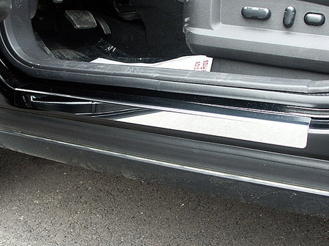 MKX 2007-2013 LINCOLN & EDGE 2007-2014 FORD (4 Pc: Stainless Steel Door Sill Trim, 4-door, SUV) DS47610