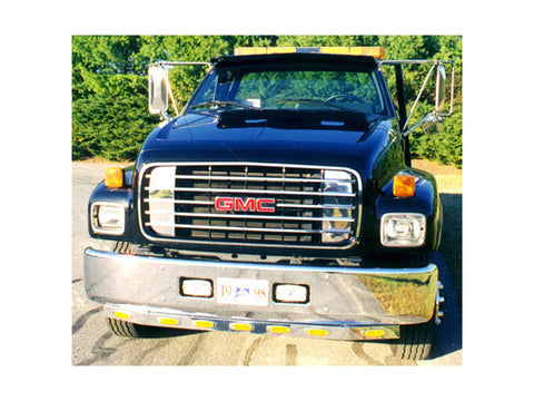 FORD F-550, F-650, F-750 - 2pc Fender Trim *3/8