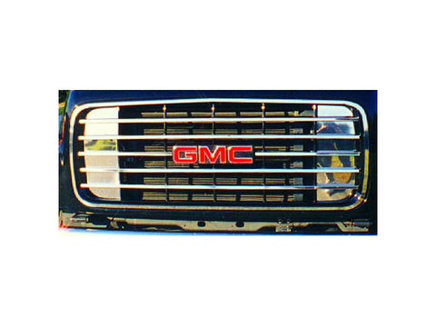 GMC C-Series - 6pc Grille Inserts QAA Part GM6500GI