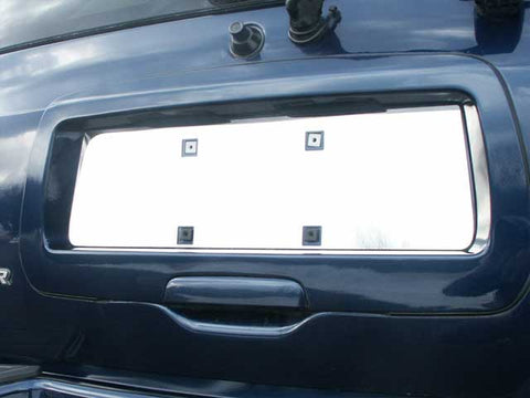 QAA fits Chevrolet Trailblazer 2002-2009 (1 piece Stainless Steel License Plate Bezels) LP42290-1