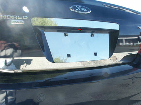 MONTEGO 2005-2007 MERCURY & SABLE 2008-2009 MERCURY (1 Pc: Stainless Steel License Plate Bezel, 4-door) LP45490