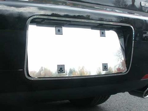 QAA fits Lincoln MKZ 2006-2008 (2 piece Stainless Steel License Plate Bezels) LPS46630-1