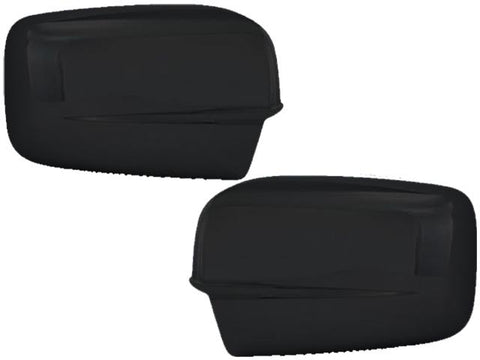 Gloss Black ABS Mirror Cover 2Pc Fits Ram Trucks RAM Classic 1500 2500 MC67443B