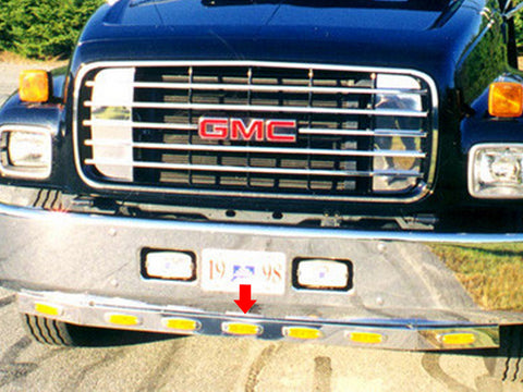 GMC C-Series - 3pc 9 LED Lower Front Light Bar QAA Part NR6500LBP