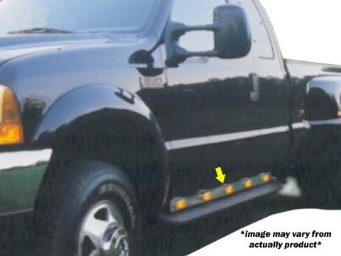 Ford F-350, F-450, F-550, F-650, F-750 - 2pc 14 LED Under the Door Light Panel *CREW CAB ONLY* QAA Part NR99F4DL