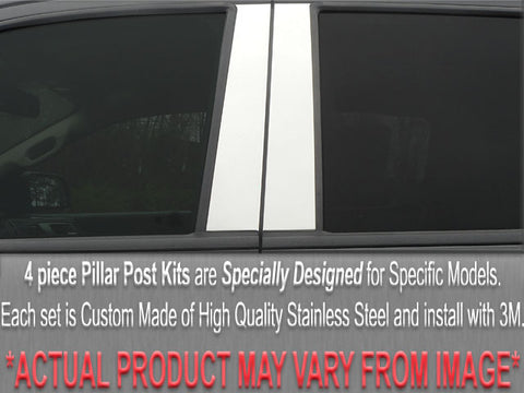 MATRIX 2009-2013 TOYOTA (4 Pc: Stainless Steel Pillar Post Trim Kit, 4-door) PP29116