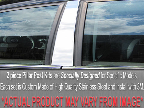 A4 1996-2001 AUDI (2 Pc: Stainless Steel Pillar Post Trim Kit, 4-door & Wagon) PP96624