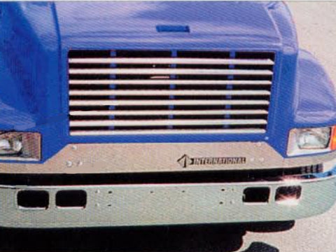 International 4700 & 4900 Series - Horizontal Grille Overlay with 1/2