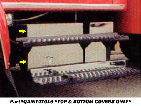 International 4700 & 4900 Series - 2pc Battery Overlay Cover *TOP & BOTTOM SECTIONS ONLY* QAA Part QAINT47016