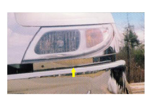 International 4000 Series - 2pc Lower Hood Guards *FITS MODEL YEARS 2002-2010* QAA Part QAIT4344HG