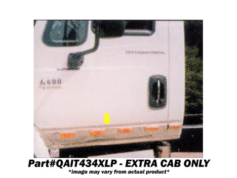 International 4000 Series - 6pc 14 LED Door Light Panel **EXTRA CAB ONLY** *FITS MODEL YEARS 2002-2010* QAA Part QANR434XLP