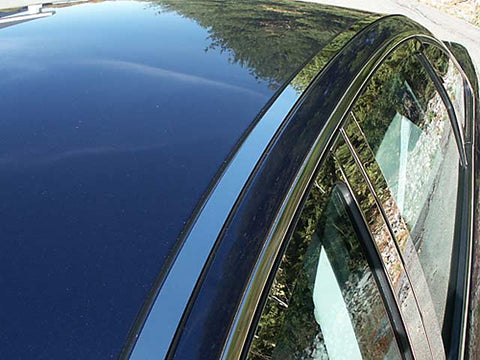 MONTEGO 2005-2007 & SABLE 2008-2009 MERCURY (2 Pc: Stainless Steel Roof Insert Trim, 4-door) RI45490