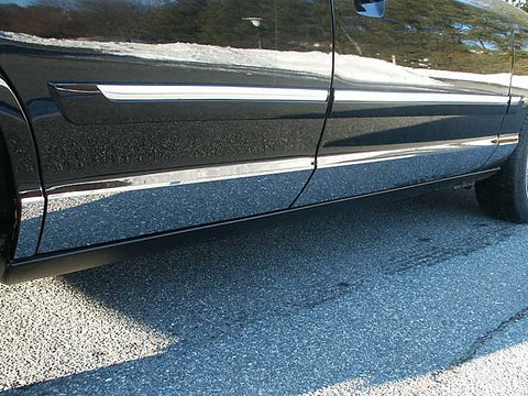 CROWN VICTORIA 1992-2009 FORD (8 Pc: SS Rocker Panel Body Accent Trim, 4.69