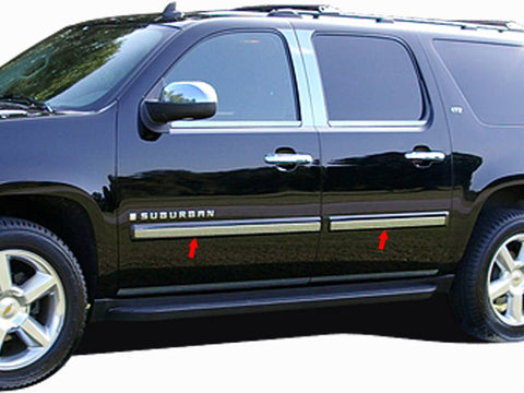 AVALANCHE 2007-2008 CHEVROLET (6 Pc: SS Rocker Panel Body Accent Trim, 2.187