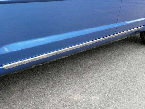 200 2011-2014 CHRYSLER (2 Pc: SS Rocker Panel Body Accent Trim, - Lower Kit: Bottom of the door UP to the specified width , 4-door) TH47780