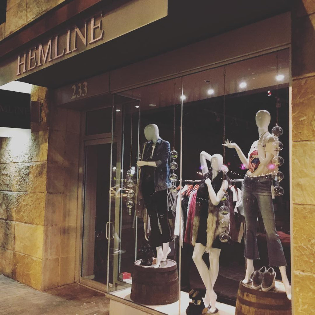 New Retail Location: Hemline