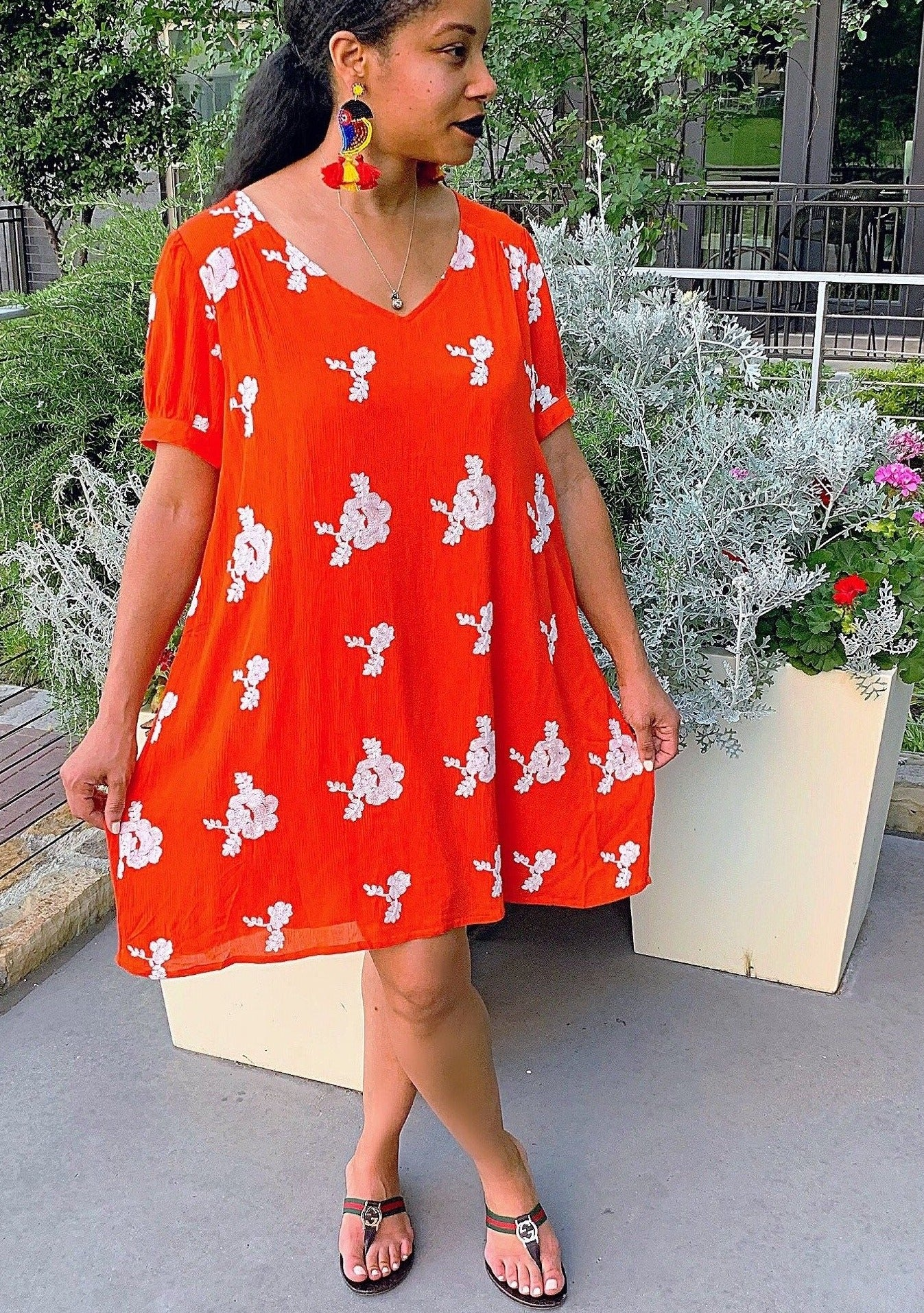Exhale Floral Dress