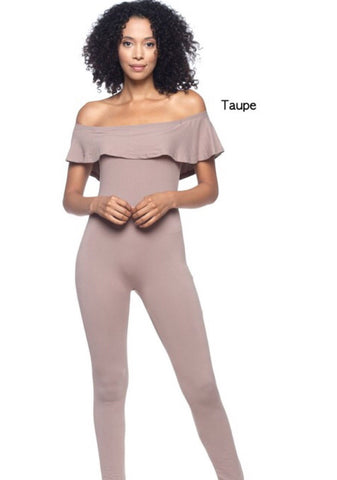 Taupe Bodysuit - TRUE.