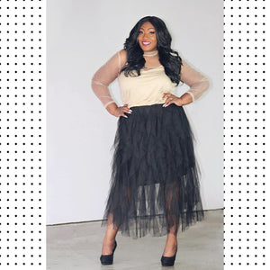 Flourish Tulle Set
